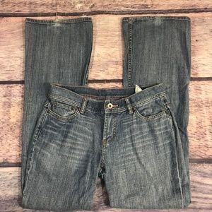 Express Jeans Womens Size 4 Reg Flare Leg Blue